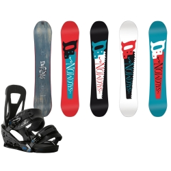 pack Salomon Craft + burton freestyle black 2015
