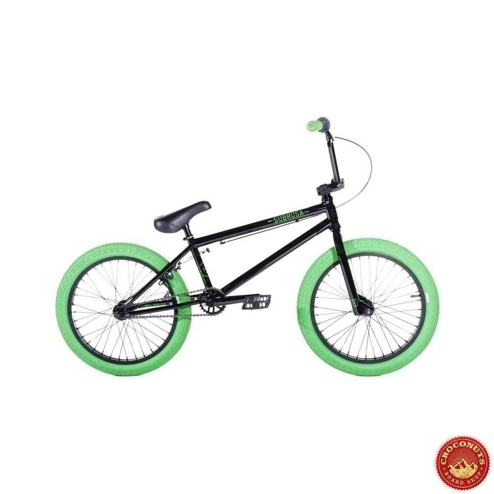 bmx subrosa tiro black green 2015 bike bmx vente en. Black Bedroom Furniture Sets. Home Design Ideas
