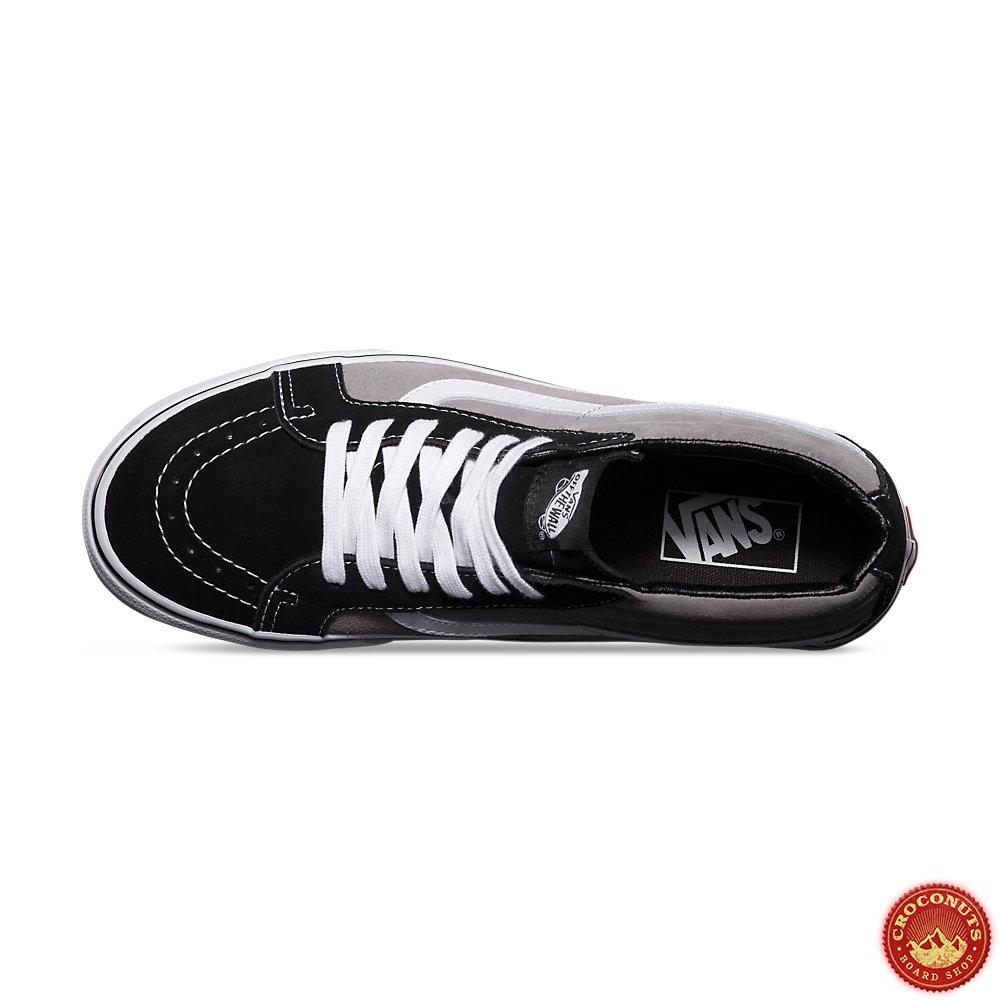 30 Sur Shoes Vans Sk8 Mid Reissue Blk Frost Gray Shoes