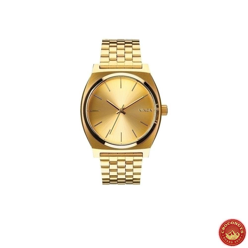 20 sur montre nixon time teller metal all gold streetwear pas cher. Black Bedroom Furniture Sets. Home Design Ideas