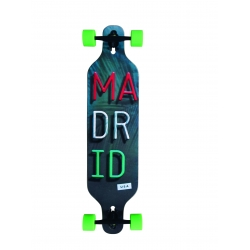 Madrid longboard Trance Miami Drop Thru 2015