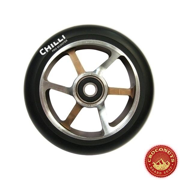 Roue Chilli Noir Choco 110mm 2020