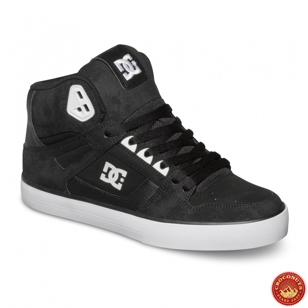 chaussures dc shoes spartan high wc black pour magasin. Black Bedroom Furniture Sets. Home Design Ideas