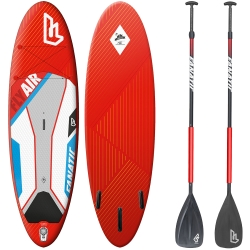 Pack Paddle Fanatic Fly Air Premium 10,6 + Pagaie 2014