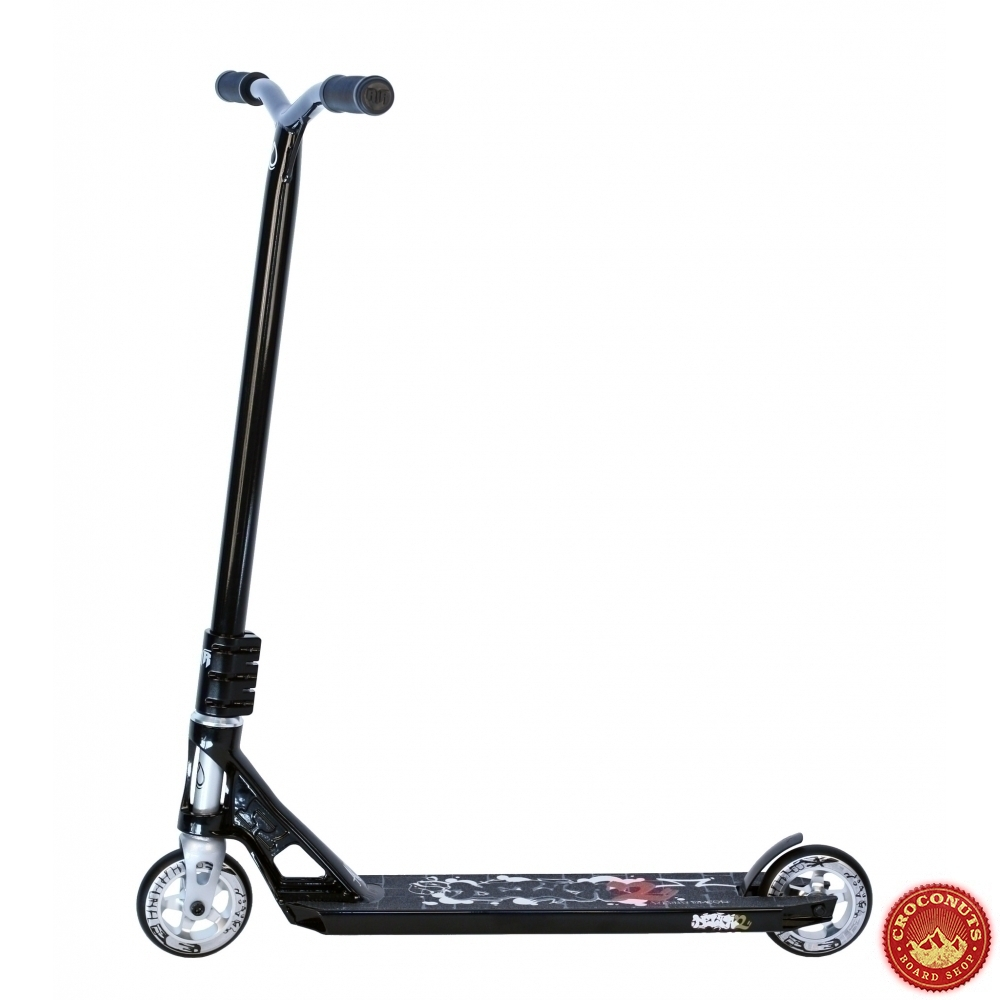 trotinette ao scooter delta 2 complete black pour magasin de trottinette ao scooter. Black Bedroom Furniture Sets. Home Design Ideas