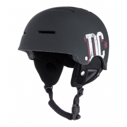 Casque DC Shoes Drifter Black Red White 2016