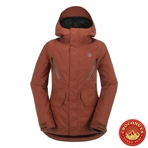 Veste Volcom Fauna Insulated Burnt Sienna 2016