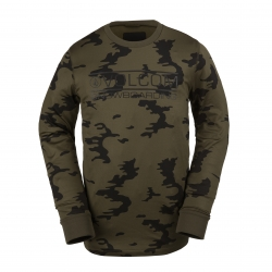 Sous Vêtement Volcom First Layer Crew Olive 2016