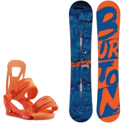 Pack Burton Ripcord + Burton Freestyle Orange