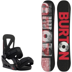 Pack Burton Descendant + Burton Custom Black Red 2016