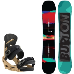 Pack Burton Process Flying V + Burton Mission Est Splinter 2016