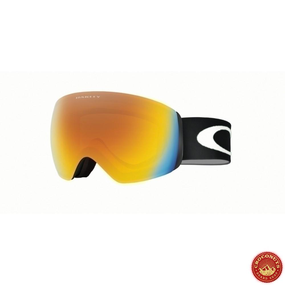 Masque Oakley Flight Deck XM Matte Black Fire Iridium pour   Magasin ... acd4da6cc906