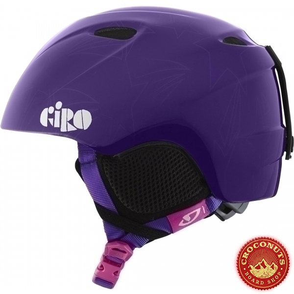 Casque Giro Singleshot Purple Stars 2016