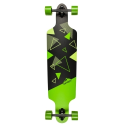 Longboard D Street Polygon Tri Drop Through 2016 pour