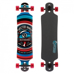 Longboard Sector 9 Meridian Red 2016 pour
