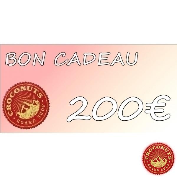 Bon D'achat  2018