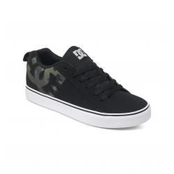 Chaussures DC Shoes Court Vulc SE Black/Black/Black 2016 pour homme, pas cher