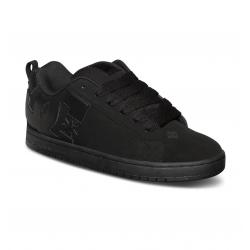 Chaussures DC Shoes Court Graffik Black/Black/Black 2016 pour homme, pas cher
