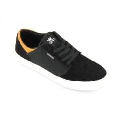 Chaussures Supra Yorek Low Black/Cathay Spice/White