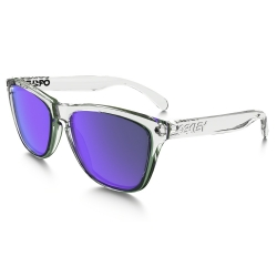 Lunettes Oakley Frogskins Polished Clear Violet Iridium 2016 pour