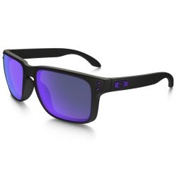 Lunettes Oakley Holbrook Julian Wilson Matte Black Violet Iridium 2016 pour
