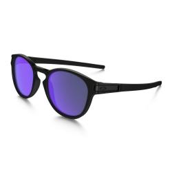 Lunettes Oakley Latch Matte Black Violet Iridium 2016 pour