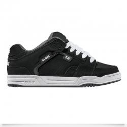 Shoes Globe Scribe Black Black White 2016 pour homme