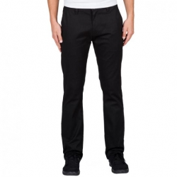 Pantalon Chino Volcom Frickin Modern Stretch Black 2016 pour