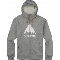 Sweat Burton OAK Full Zip Monument Heather 2016 pour