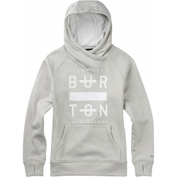 Sweat Burton Quartz Dove Heather 2016 pour femme