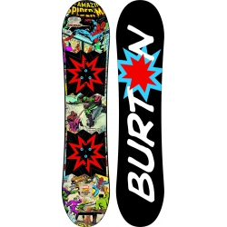 Board Burton Chopper LTD Marvel 2017 pour junior, pas cher