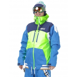 Veste Picture Panel Neon Green Picture Blue 2017