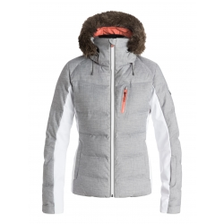 Veste Roxy Snowstorm Mid Heather Grey 2017