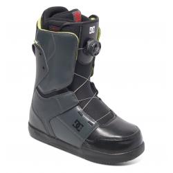 Boots Dc Shoes Scout Boa Dark Shadow Black Lime 2017 pour homme, pas cher