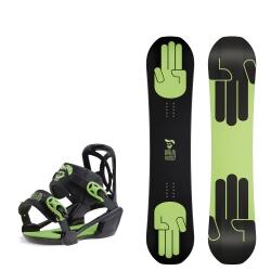 Pack Bataleon Mini Shred + Fixations Mini Shred 2017 pour junior