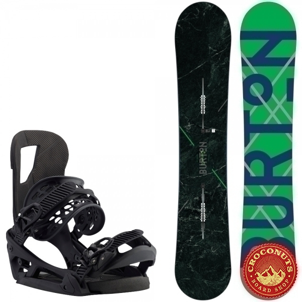 Pack Burton Custom X Camber + Fixations Burton Cartel Est Black 2017
