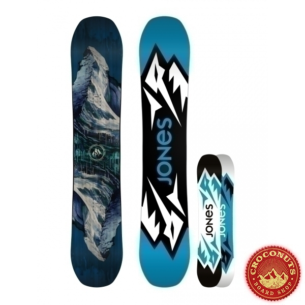 Board Jones Snowboard Mountain Twin 2017