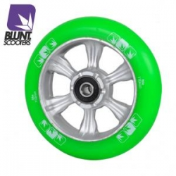 roues Blunt 6 spokes 110 mm green silver 2016 pour
