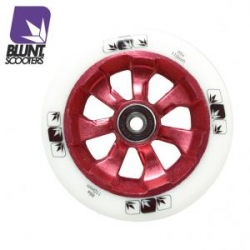 roues Blunt 7 spokes 110 mm white red 2017 pour