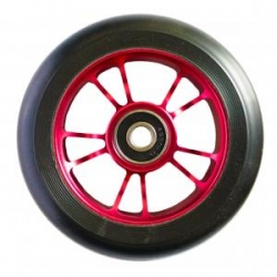 roues Blunt 100 mm 10 spokes black red 2021 pour