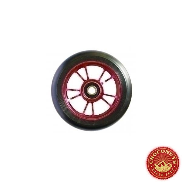 roues Blunt 100 mm 10 spokes black red 2021