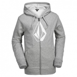 Sweat Volcom JLA Stone Zip Heather grey 2018 pour homme, pas cher