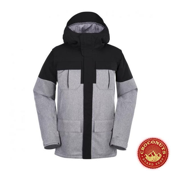 Veste Volcom Alternate Insulated Heather Grey 2018