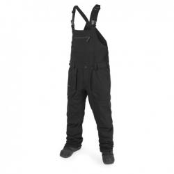 Pantalon Volcom Roan Bib Black 2018 pour homme, pas cher