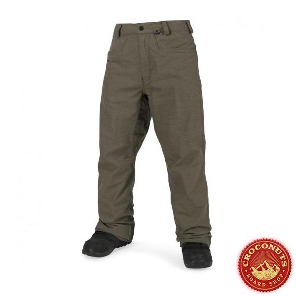 Pantalon Volcom Carbon Teak 2018