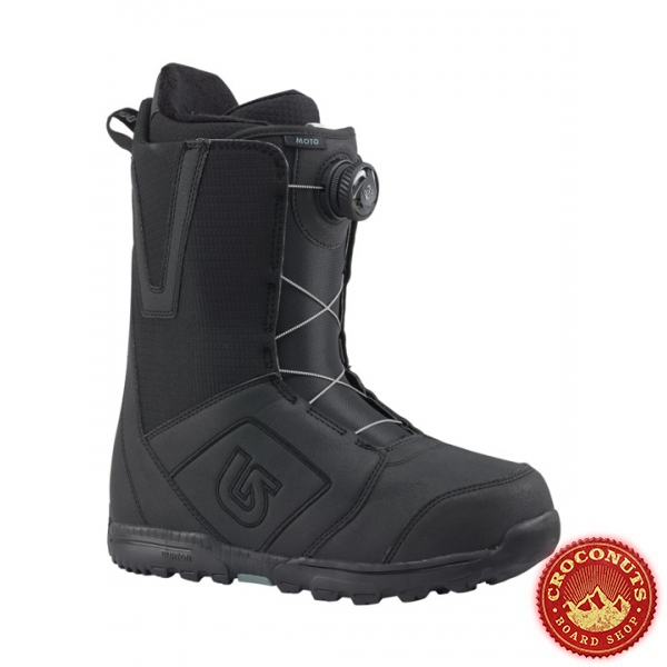 Boots Burton Moto Boa Black 2018