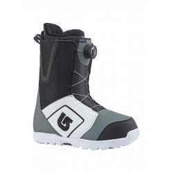 Boots Burton Moto Boa White Black Grey 2018 pour homme