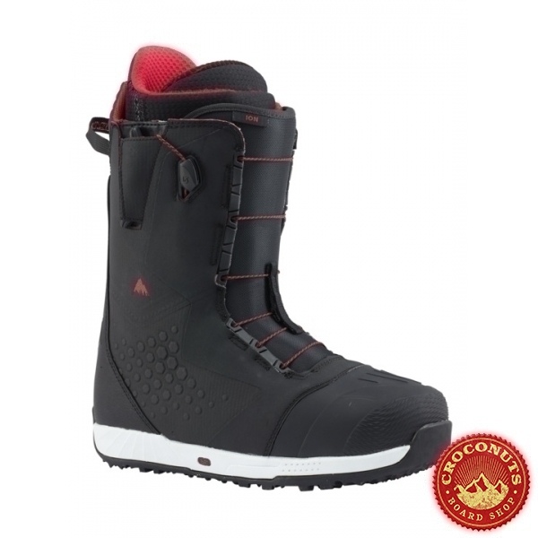Boots Burton Ion Black Red 2018