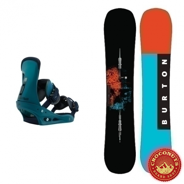 Pack Burton Instigator + Burton Freestyle Mariner Green 2018