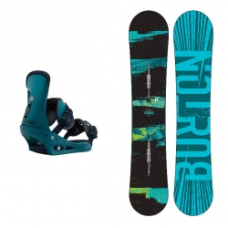 Pack Burton Ripcord + Burton Freestyle Mariner Green 2018 pour homme, pas cher